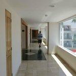 hallway building C