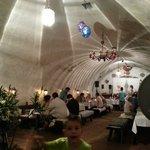 Im Restaurant - gemütliche Atmosphäre
