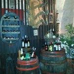 Typisch alte Weinpresse