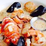 Amazing seafood chowder!