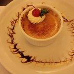 creme brulee -main floor restaurant