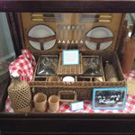 Exhibit - Picnic basket for train trip