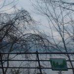 冬の支笏湖1(国道より)