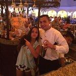 El mejor bar tender! Tony!! Y también Chi del Lobby bar!!!