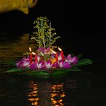 Enjoy the traditional Loi Kratong Ceremony