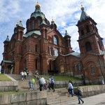 ロシアからのツアー客と一緒でした