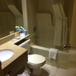 Semi-remodeled bathroom