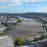 Amazing view of the Brisbane River