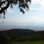 View to Ngorongoro Conservation Area