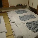 Beds set up upon arrival.