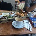 Amazing Landwer's breakfast at landwer's coffee!