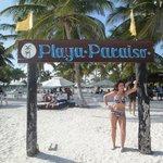 am Strand (Playa Paraiso)