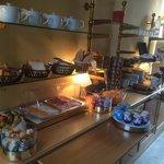 Le petit déjeuner de l'hōtel Saint-Laurent