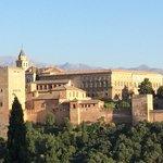 Alhambra vista desde el barrio Albacin