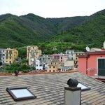 Appartamento carrugio, vista dalla terrazza