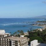 View toward Holiday Inn