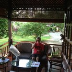 The Forest House verandah! Ah to be back there!