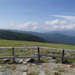 牛伏山からの景色