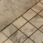 Really dirty/moldy grout.