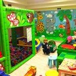 la stanza dei giochi per i bambini
