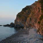 An evening dip or paddle at Heddon's Mouth