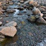 River Heddon meets the sea at Heddon's Mouth