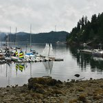 Deep Cove under clouds