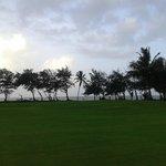 RajBaga beach beyond the golf course