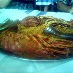 Lobster Spaghetti - yummy!