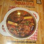 Global Cuisine Indian Style