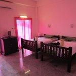Baan Georges, the pink room