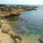 una delle tante spiagge.