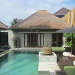 Garden Villa Pool Area