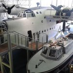 Excellent Sunderland flying boat to walk through