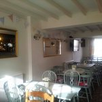 The Bear Inn has recently revamped the restaurant and it is lovely. Very welcoming and relaxing