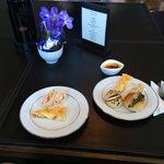 Snacks in Club Millesime