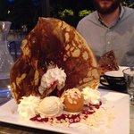Crêpe dessert