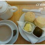 Beautiful cream tea.... I enjoyed it!