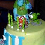 The lovely cake!