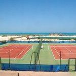 terrain de tennis en quick
