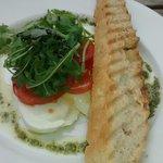 Buffalo mozzarella salad - delicious