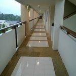 Sixth floor walkway