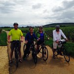 Lovely ride through the vineyards