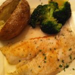 Broiled fillet of sole