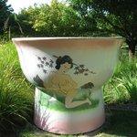 1ère sculpture de Nicole Tran Ba Vang (verre à Saké)  2004