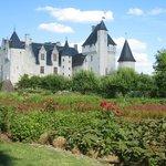 château Du Rivau, les jardins