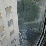vista desde la habitacion hacia la 9 de Julio. habitacion 1010