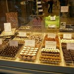 Belgian chocolates shop at square!