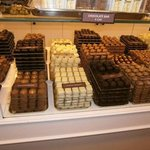 Belgian chocolate shop at square!