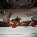 "Dessert ""variations autour du chocolat"""